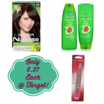 Garnier and Revlon Products Only $.37 Each at Target!