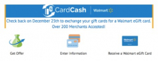 Walmart: Exchange Unwanted Gift Cards for Walmart Gift Cards! Over 200 Retailers