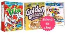 General Mills Cereals As Low As $.65 a Box at CVS!