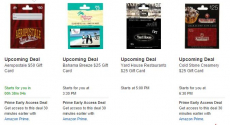 Amazon: Gift Card Lightning Deals = Aeropostale, Cold Stone Creamery and more!