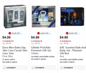 Target: Gift Sets Starting at $4.99 (Dove Men+Care, Gillette, Axe, and More!)