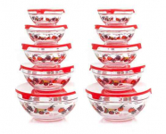 20pc Glass Bowl Set with Lids for just $28.61 (reg $47.08)!