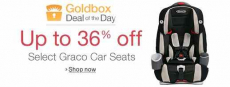 Up to 36% off Graco Car Seats!