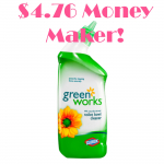 FREE Green Works Toilet Bowl Cleaner + $4.76 Moneymaker at Target!