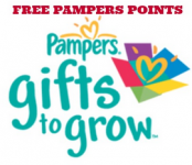 10 FREE Pampers Gifts to Grow Points!