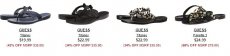 Women's Sandals from Guess, Tommy Hilfiger, Jessica Simpson and More Up to 80% off!