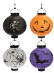 Halloween Pumpkin Spider Bat Skeleton Lamp Paper Lanterns only $5.59!