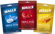 Two Free Bags of Halls Cough Drops at Rite Aid!
