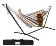 Double Hammock w/ Steel Stand & Portable Carrying Case $64.99 (reg $249.95) Shipped!
