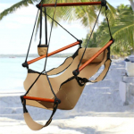 Hammock Hanging Chair Air Deluxe Sky Swing Outdoor Chair Only $32.72 (reg $84.95) Shipped!