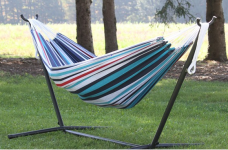Vivere 8-ft Double Hammock with Stand only $89.99 (reg $169.99)