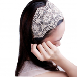 Elegent Lace Elastic Headband Only $1.76 + FREE Shipping!