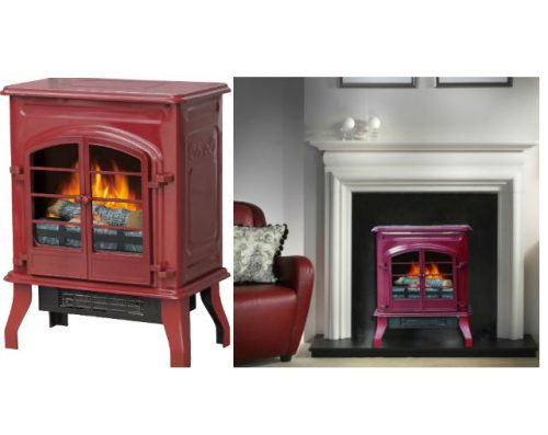 Decor Flame Electric Stove Heater Only