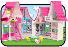 Hello Kitty Doll House- Over 15 inches tall $26.57 (REG$69.99)