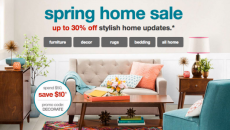 LAST DAY! Target Home Decor Sale: Save 30% + Extra $10 Off!
