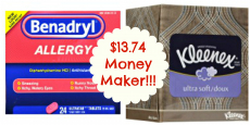 *HOT* $13.74 Money Maker on Benadryl and Kleenex at Target!