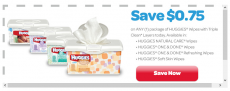 NEW Huggies Coupons Including $.75/1 Huggies Wipes!