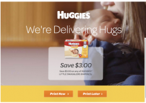 $3 off Huggies Printable Coupon + Plus WIn Diapers for 1 Year and Rite Aid Deal Scenario!