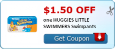 $1.50 off one Huggies Little Swimmers Swimpants Coupon