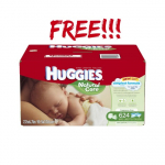 Free Huggies Natural Care Baby Wipes (624 ct.) + Free Shipping!