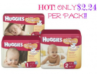 HOT! Huggies Diapers Jumbo Packs Only $2.24 Each at Stop & Shop and Giant!
