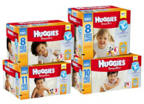 Huggies Diapers Only $0.20 per Diaper at Walmart! (6/29 Only)