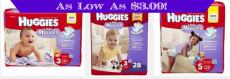 Huggies Little Movers Jumbo Pack Diapers as Low as $3.09 at Target!