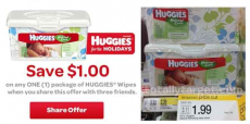 Huggies Wipes $0.99 at Target!