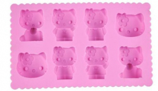 Hello Kitty Silicone Ice Cube Tray Only $4.95 + FREE Shipping!