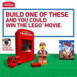 FREE $5 Off Coupon for The LEGO Movie from Redbox!