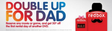 Redbox Father's Day Promotion!