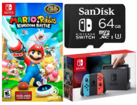 Nintendo Switch Bundle Only $329.98! A $498 Value!