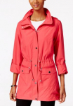Women's Hooded Anorak Jacket Only $27.99 (reg $70) at Macy's!