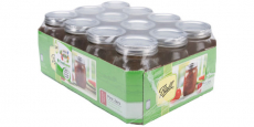 12-Count Ball Regular Mouth Canning Jars Only $8.78! REG $18!