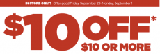 JCPenney: $10 off of $10 Coupon?!