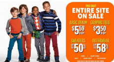Children's Place: Save 30% Off Entire Purchase + $5.59 for Children's Jeans!