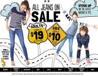 Old Navy: Children's Jeans-$10 and up, Free Shipping, & Get Back Super Cash!