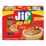 Jif To Go Peanut Butter Only $1 at Safeway- No Coupon Needed!