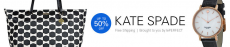 Up to 50% off Kate Spade Handbags & Watches + FREE Shipping!