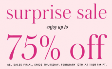 Kate Spade: Up to 75% off Clothing, Purses, Shoes and More!