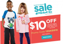 HOT! Kohl's: Kid's Clothing $10 Off $30 Coupon!