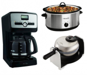 Today Only! 3 Kitchen Appliances Only $18.47 Each!