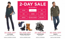 Save Big At Kohl's During This 2-Day Sale! Up To 50% Off Women's Clothing and Cookware!