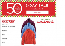 Kohl's 50% off Deals: Outerwear, Boots, Backpacks and more!