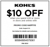 21 NEW Retail Store Coupons!