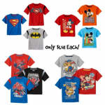 Kohl's: Get 5 Toddler T-Shirts Only $1.41 Each! Ends Today!