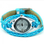 Women's Leather Bracelet Watches as Low as $2.96 Shipped