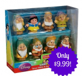 Fisher-Price Little People Disney Princess Snow White and the Seven Dwarfs Gift Set Only $9.99 (Reg. $14!)