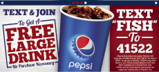 Lohn John Silvers: FREE Large Drink With No Purchase Necessary!