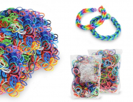 600 Piece Loom Bands Kit Only $5.99 Shipped!